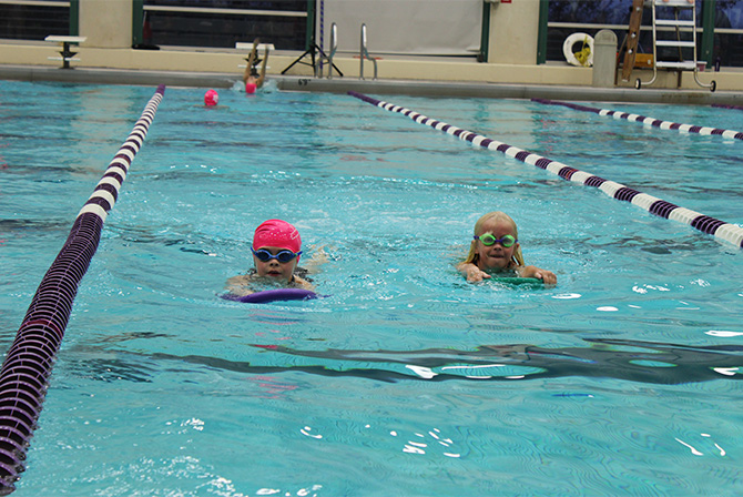 Pink Swim A Thon Breaststroke For Breast Cancer North By Northwestern