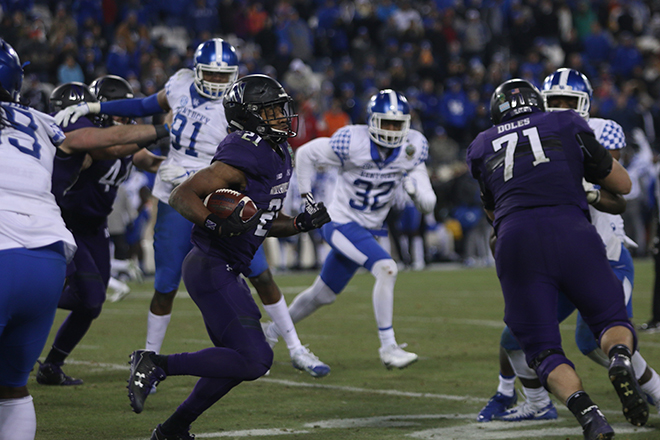 Kentucky prepares for clash of the Wildcats in Music City Bowl